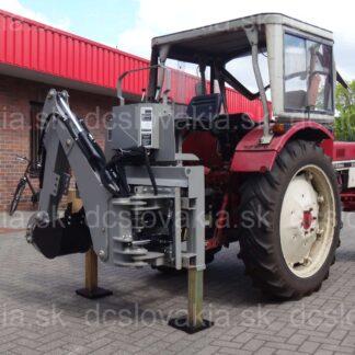 SN3 podkop za malotraktor, bagger strojeprodej.cz
