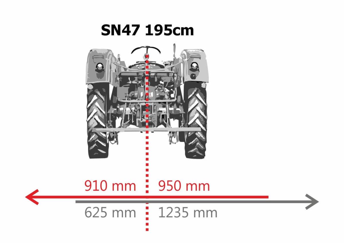 Kladívkový mulčovač 195 s bočným posunem SN47 strojeprodej.cz (8)